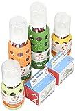 Lifefactory Glass Baby Bottles 4 Pack Starter Kit (9 oz. & 4 oz. - Gender Neu...