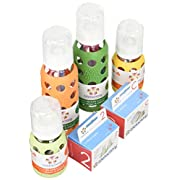 Lifefactory Glass Baby Bottles 4 Pack Starter Kit (9 oz. & 4 oz. - Gender Neu...