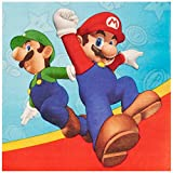 Super Mario Party Supplies - Lunch Napkins (20)