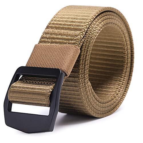 Web Extreme Buckle - AXBXCX Non-slip Tactical Belt Outdoor Military Nylon Webbing 1.5