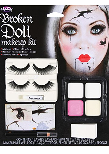 Halloween Gothic Broken Doll Make-Up -