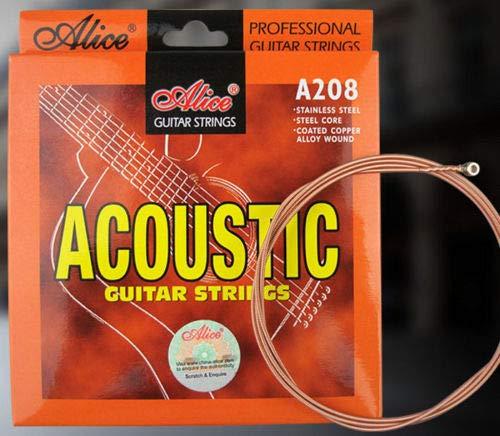 acoustiques et electro acoustiques Cordes pour les guitares folk Alice Custom light 11//52