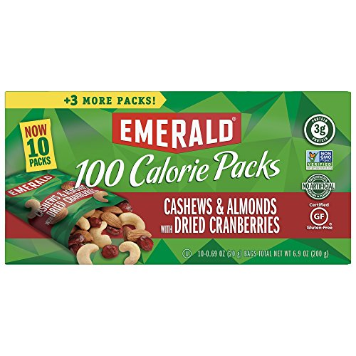 Emerald Cashews Almonds Cranberries Calorie