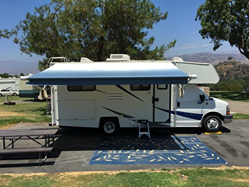 Awnlux RV Canopy Awning Fabric for 15 Feet Carefree Roll ...