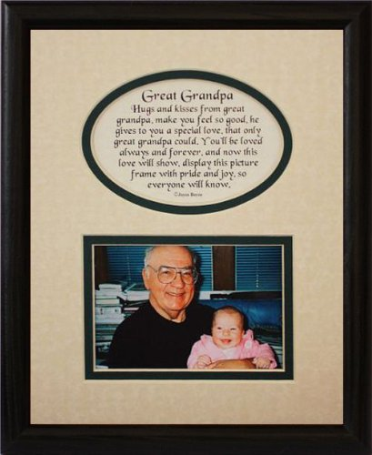 Amazon 8x10 Great Grandpa Picture Poetry Photo Gift Frame