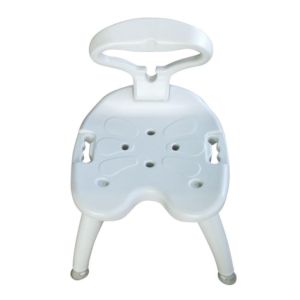 Amazon.com: Veryke Shower Chair with Non Slip Mat for Seniors ...
