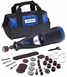 Dremel 7700-02 MultiPro 7.2-Volt 20,000 RPM Two-Speed Rotary Tool with 50 Accessories