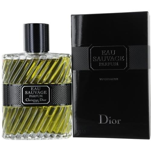 Christian Dior Eau Sauvage Parfum Spray for Men, 3.4 Ounce