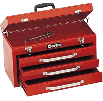 TOOL CHEST 3 DRAWER CB3 By CLARKE INTERNATIONAL  sc 1 st  Amazon UK & TOOL CHEST 3 DRAWER CB3 By CLARKE INTERNATIONAL: Amazon.co.uk ...