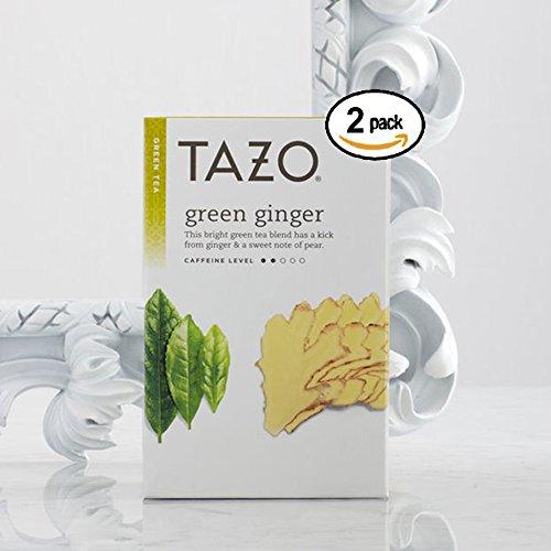 Tazo Green Tea Ginger -- 20 Tea Bags by TAZO