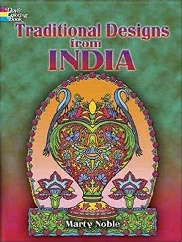 Traditional Designs from India (Dover Design Coloring Books): Marty ...
