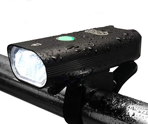 Uncharted Roads Gear URG Pro Ultra Bright USB Rechargeable Bike Light Set - Rechargeable Taillight - Scooter Night Kit Light