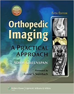 Orthopedic Imaging: A Practical Approach 9781608312870 Higher Education Textbooks at amazon