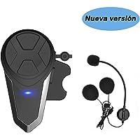 KOEITT BT-S3 Intercomunicador Casco Moto Auriculares Intercomunicador Moto
