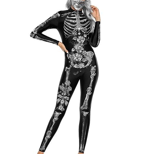 Halloween Mujeres Ropa siamesa Impresión Digital en 3D Impresión ...