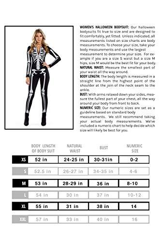 51M8FXbkKhL - Tipsy Elves Women's Skeleton Halloween Costume
