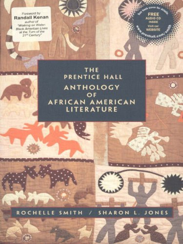 The Prentice Hall Anthology of African American Literature with Audio CD by Prentice Hall