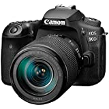 Canon DSLR Camera [EOS 90D] with 18-135 is USM Lens   Built-in Wi-Fi, Bluetooth, DIGIC 8 Image Processor, 4K Video, Dual Pixel CMOS AF, and 3.0 Inch Vari-Angle Touch LCD Screen, Black