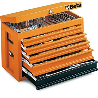 Beta C23 O Portable Tool Chest, with 5 Drawers, Orange Color ...