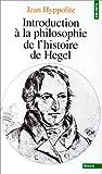 img - for Introduction   la philosophie de l'histoire de Hegel book / textbook / text book