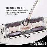MAYSHINE Microfiber Hardwood Floor Mop - 5 Washable
