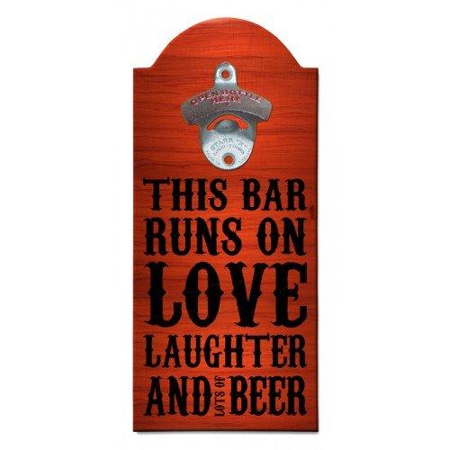 Beer Wooden Bottle Opener with Magnetic Cap Catcher 1 Each