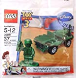 LEGO Toy Story 3 ARMY MAN & JEEP Minifigure Bag 30071 (37 pieces)