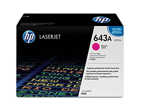 HP 643A (Q5953A) Magenta Toner Cartridge for HP LaserJet 4700