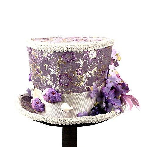 Kentucky Derby Happy Boda Cap l Mini Sombrero Fashion Copa Sombrero Sombrerero Y Té De Fiesta Púrpura Crema Enojado Del Flor ocio vCvxTrwqP