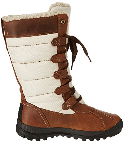 Timberland Damen MT Hayes Fabric and Leather Waterproof Stiefel Braun (MOCHA Bisque FG)