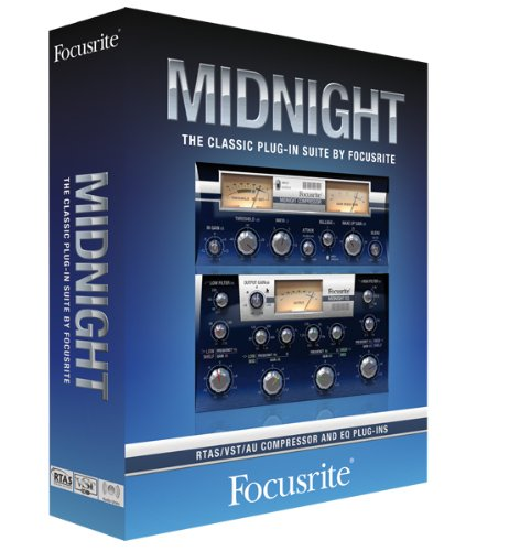 Focusrite Midnight ISA 110 and ISA 130 Plug-in Suite by Focusrite