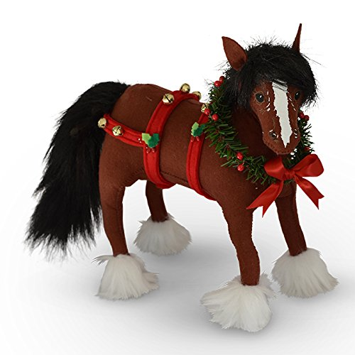 Annalee 10in Jinglebell Clydesdale