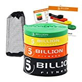 Cheap 5 BILLION Pull Up Bands, Exercise Resistance Bands – Mobility & Stretch Band – Powerlifting Bands, Perfect for Weight Lifting, Strength Training, Powerlifting – Set of 4
