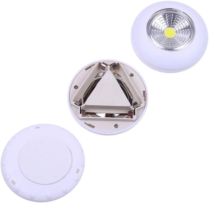 Wireless LED Touch Press Switch Light Closet Light Bar Wardrobe Counter Night Lamp 5PCS LED Under Cabinet Lighting