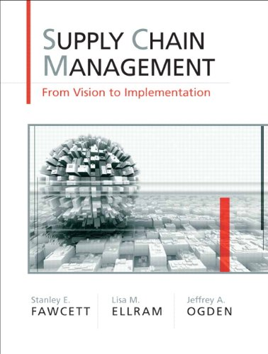 Supply Chain Management: From Vision to ImplementationAn Integrative Approach