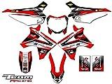 Team Racing Graphics kit for 2013-2017 Honda CRF 110, ANALOG