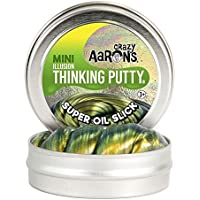 Crazy Aaron's SO003 Super Illusions 'Oil Slick' Thinking Putty Tin, 2-Inch