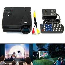 OUKU®Mini HD Home Super Bright LED LCD Mini Projector QVGA (320x240) USB SD HDMI 60LM LED