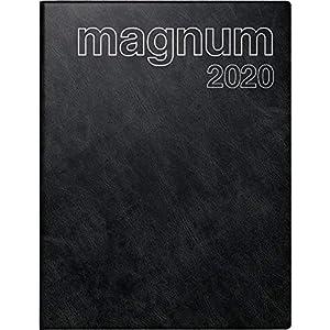 Baier & Schneider rido / idea 702704290 Calendario de libros magnum (2 páginas = 1 semana, 183 x 240 mm, cubierta de película de espuma Catana, calendario 2020) negro