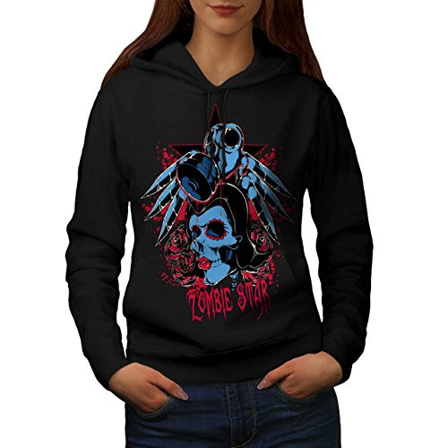 Evil Zombie Star Rise Nightmare Women S Hoodie | Wellcoda (Love Bite Vampire Costume)