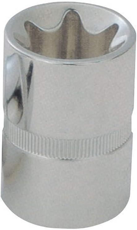 E10 KS TOOLS 4042146181300 SK Hand Tool 1//2 Chromeplus TX E Socket