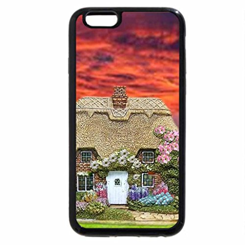iPhone 6S / iPhone 6 Case (Black) COUNTRY SUNSET.