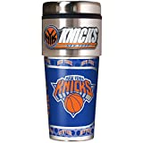 NBA New York Knicks Metallic Travel Tumbler,  16-Ounce