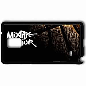 Personalized Samsung Note 4 Cell phone Case/Cover Skin And1 Basketball Case 6801 Black