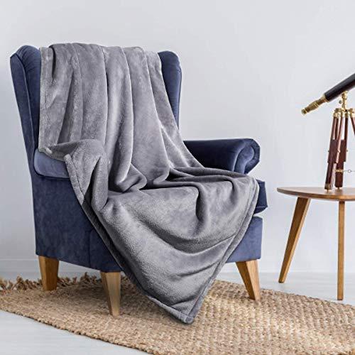 HOMEIDEAS Blanket Lightweight Flannel Camping