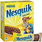 حبوب الافطار نيسكويك بطعم الشوكولاتة من نستله وزن 25 غرام (عبوة تحتوي على 6 الواح)