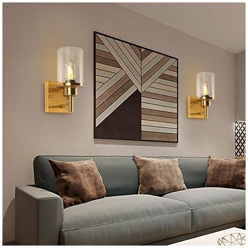 Bathroom Light Fixtures Sconces 1 Light Contemporary Modern Gold Wall Light Vintage Industrial Wall Sconce Farmhouse