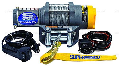 Superwinch - 1125220 - ATV/UTV Electric Winch, 1-1/3HP, 12VDC