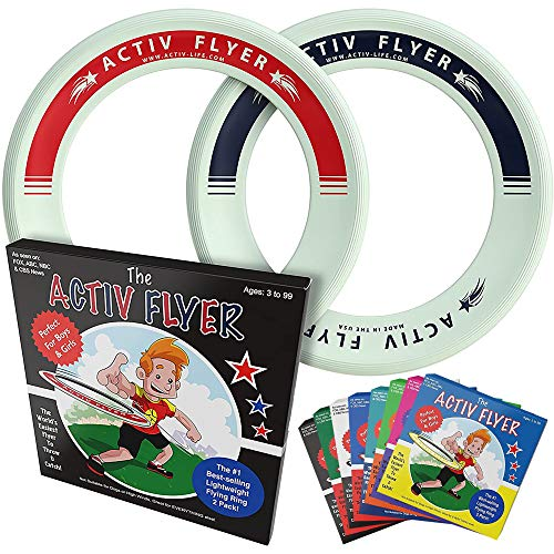 Activ Life Flying Toys [Glow-in-The-Dark] Cool 6