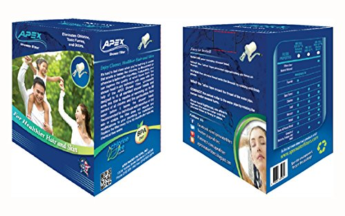 APEX MR-7012 Shower Water Filter for Bathroom - Add Minerals & Removes Chlorine and Heavy Metals - Universal Showerhead System by Apex (Image #6)